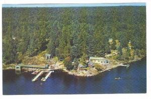 Totem Point Lodge, Noeville, Ontario, Canada, 40-60s