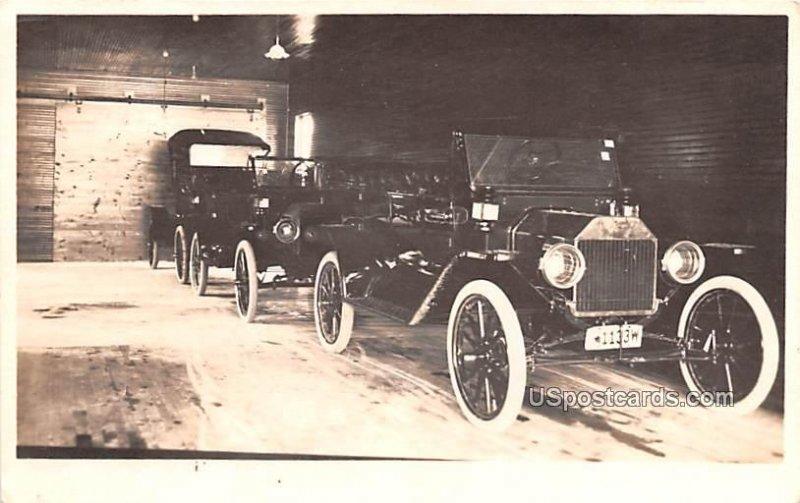 Model T Old Cars - Pandom Lake, Wisconsin