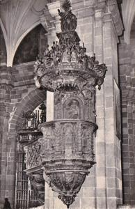 Peru Cuzco Pulpit Of The Cathedral Real Photo