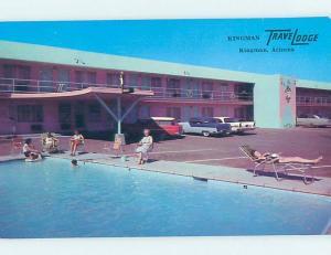 Unused Pre-1980 TRAVELODGE MOTEL Kingman & Bullhead City Arizona AZ c0358