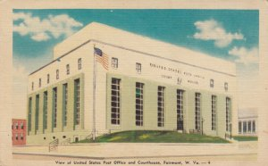 FAIRMONT, Virginia, 30-40s; United States Post Office and Courthouse