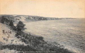G43/ Martha's Vineyard Massachusetts Postcard c1910 Bluffs Innisfail
