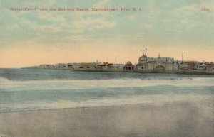 NARRAGANSETT PIER, Rhode Island, 1900-10s; Water Front from the Bathing Beach
