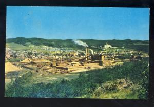 Edmunston, New Brunswick/N.B., Canada Postcard, Fraser Companies Ltd. Pulpmill