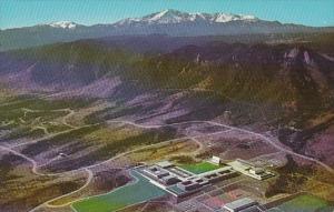 Colorado Aerial View U S Air Force Academy Colorado Springs