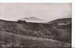 Scotland Postcard - Benlester Glen and Holy Isle - Ayrshire   U4466