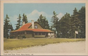 TRURO Nova Scotia - TRURO GOLF CLUB - early 1940s ORIGINAL view / 9  holes
