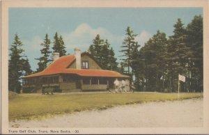 TRURO Nova Scotia - TRURO GOLF CLUB - early 1940s ORIGINAL view / 9  holes