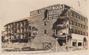 RP: SANTA BARBARA , California , 1920s ; Earthquake Damage