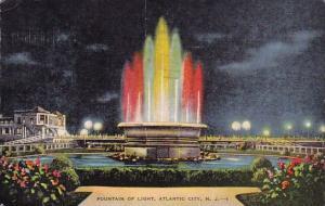 New Jersey Atlantic City Fountain Of Light