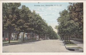 GREENVILLE, Ohio, PU-1928; Broadus Ave.
