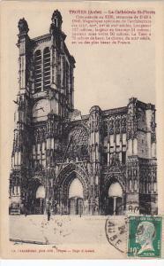 France Troyes La Cathedrale Saint Pierre 1924