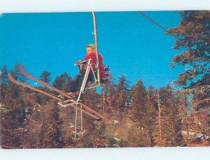 Chrome CLIFFORD LYNN SKIING IN SAN BERNARDINO MOUNTAINS Big Bear Lake CA AG4772