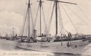 LE HAVRE, Seine Maritime, France, 00-10s ; La Yacht La Bacchante a M. Menier
