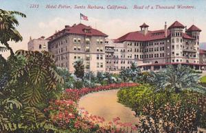 California Santa Barbara Hotel Potter