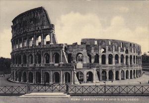 Italy Roma Rome Anfiteatro Flavio O Colosseo