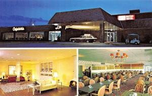 Nashville Tennessee~Jack Spence Motor Hotel~Cafeteria~Neon Night Lights~1960s PC