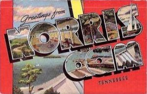 TN Norris Dam Greetings From