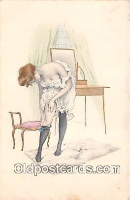 H. Christ Vienne NR 109 Artist Raphael Kirchner Unused close to perfect corne...