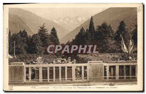 Old Postcard Luchon View Verasque Fond de la Terrasse du Casino
