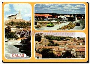 Postcard Modern Calas Vue Generale