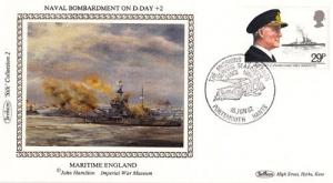 Cockle Dredging Fishermen Stamp Benham First Day Cover
