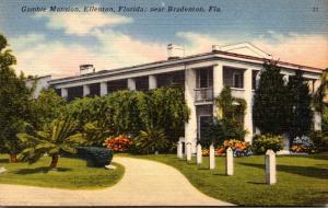 Florida Bradenton Gamble Mansion