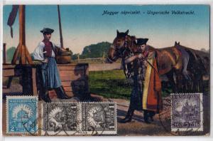 Maggar nepviselet - Ungarische Volkstracht