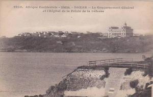 Senegal Dakar Le Gouvernemnet General et l'Hopital de la Pointe de la Defense