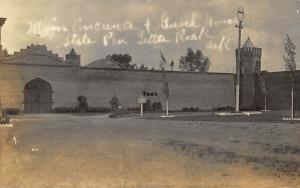 LITTLE ROCK, ARKANSAS STATE PEN-EARLY 1900'S RPPC REAL PHOTO POSTCARD