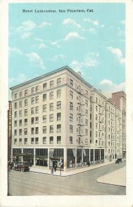 San Francisco California~Hotel Lankershim~Restaurant~Chops~Steaks~1920s Cars~PC
