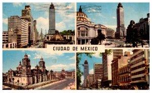 Mexico Cuatro Vistas de mexico