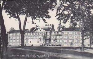 Pennsylvania Carlisle Drayer Hall Residence For Women Dickinson College Artvue