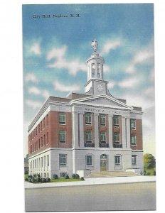 City Hall Nashua New Hampshire c1940