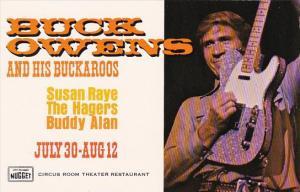 Nevada Reno John Ascuaga's Nugget Buck Owens And His Buckaroos Susan Raye The...