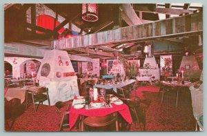 Aspen Colorado~Copper Kettle Interior~Vintage Postcard
