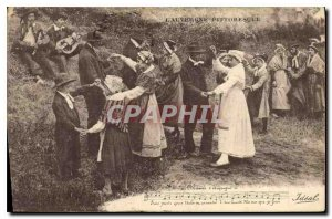 Old Postcard Folklore AUVERGNE PITTORESQUE