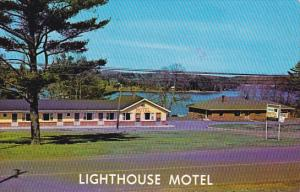 Canada Nova Scotia Lunenberg County Lighthouse Motel