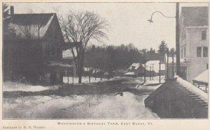 EAST BURKE, Vermont, 00-10s ; Washington's Birthday Thaw, Street Scene #2