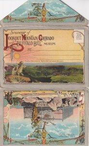 COLORADO, 1910s; Souvenir Of Lookout Mountain Colorado And Buffalo Bill Museum