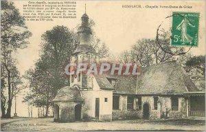 Postcard Honfleur Old Chapel Our Lady of Grace