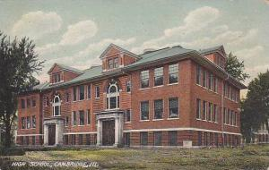 High School, Cambridge, Illinois, PU-1909