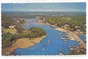 Aerial View of the Kennebunk River  Maine 00-10