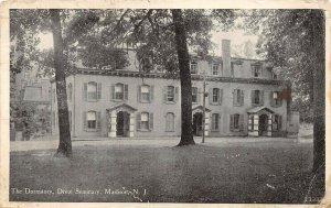 LP41   Madison  New Jersey Postcard  Drew Seminary Dormitory