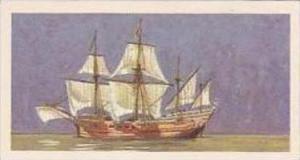 Brooke Bond Vintage Trade Card Saga Of Ships 1970 No 10 Madre De Dios