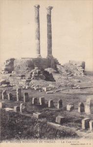 Algeria Timgad Le Capitole