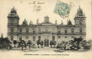 CPA FERRIERES-en-BRIE - Le Chateau vue de la Grille d'honneur (120481)