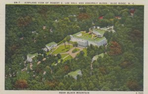 BLUE RIDGE, NC, 30-40s ; Airplane View of Robert E. Lee Hall & Assemby Buildings