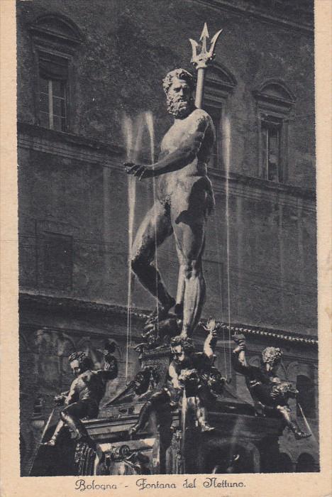 Fontana Del Nettuno, BOLOGNA, Emilia-Romagna, Italy, 00-10's