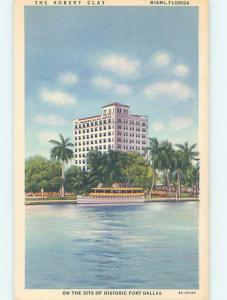 Linen ROBERT CLAY HOTEL Miami Florida FL B2754